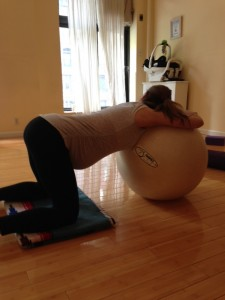 Using the Birth Ball In Labor