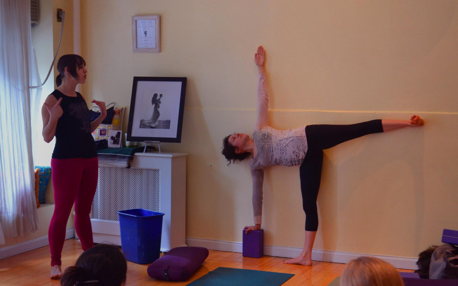 Teach<br>Prenatal yoga!